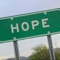 """Hope"" sign"